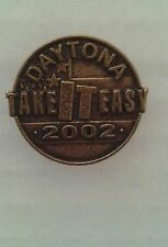 Daytona 2002 Take It Easy Collectible Motorcycle Pin 1x1 For Vest Jacket Hat