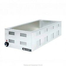 ADCRAFT (FW-1500W) - 4/3 Countertop Warmer, Portable Steamtable .