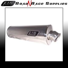 Honda CBR900 954 Fireblade 2002-2004 A16 Acero Inoxidable Camino Legal Escape Deflector Inc