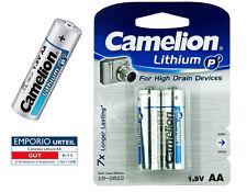 10 x Camelion LITIO P7 Baterías LR6 FR6 Mignon AA 1,5V