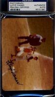 Lloyd Waner Signed Psa/dna Original Photo Certified Autograph Authentic