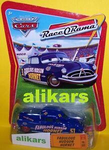 R - FABULOUS HUDSON HORNET - #10 Race O Rama Collection ROR series Disney Cars