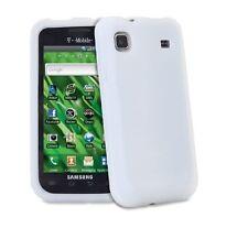 Samsung Galaxy S i9000 Silicona Suave Carcasa-Claro o Negro