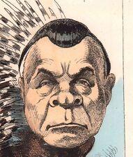 Caricature Granier de Cassagnac Second Empire Commune de Paris Porc-épic