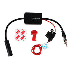 Black Car Automobile Antenna Radio Signal Booster ANT-208 Amplifier Amp 12V