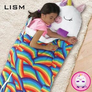 2021 New Year Soft Sleeping Bag for Children Happy Nappers Unicorn Animal