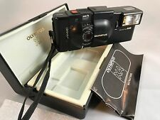 Olympus XA 35mm Film Camera with A16 Flash and Original Case