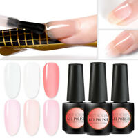 MEET ACROSS 7ml Poly Building Extension Nail Gel Polish Soak Off UV LED Manicure