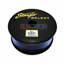 Stinger Select SSPW18BL Audio Primary Wire 18 GA Gauge Copper Wiring 500ft Blue