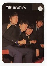 1992 Portugese Pocket Calendar Beatles John Lennon Paul McCartney George Ringo