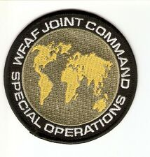 + SPACE 2063 SPACE ABOVE AND BEYOND Aufnäher Patch WFAF JOINT COMMAND SPECIAL OP
