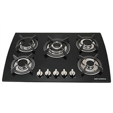 "Brand Metawell 31"" Built-in 5 Burners Cooktop Kitchen Stove Cooker Ng Lpg Gas"