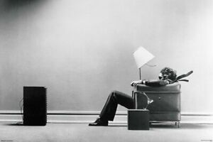 Blown Away Maxell JBL Ad  Poster 24 x 36