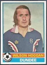 TOPPS 1977 SCOTTISH FOOTBALLERS- #004-DUNDEE-FALKIRK-WILSON HOGGAN