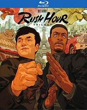 RUSH HOUR TRILOGY 1 2 & 3 (Chris Rock)  BLU RAY - Sealed Region A