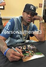"ALLEN IVERSON AUTOGRAPHED BETHEL HIGH SCHOOL 8X10 PHOTO ""MUST SEE"""