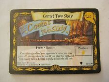 Harry Potter Comet Two Sixty #3 Broom Game Card 32/80 (Quidditch Cup)  (011-2)