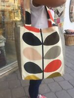 Orla Kiely Multicolor Fabric Stem-Totebag Schoulderbag Handmade