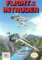 Retro Nintendo NES Game Intruder  - Used