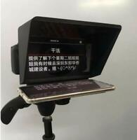 Portable Mini Teleprompter for iPhone Smartphone Shooting by all DV Camera