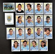Panini FIFA World Cup South Africa 2010 Complete Team Uruguay + Foil Badge