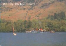 Postcard Cumbria Pleasure steamer M.V Lady Of The Lake Ullswater unposted