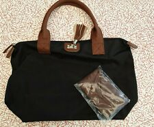 Ladies Two Piece Brown Messenger Bag New
