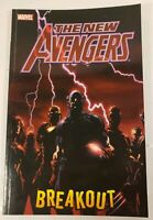 2006 Marvel Comics The New Avengers Breakout Vol.1 Graphic Novel Paperback Book
