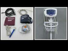 Welch Allyn Vital Signs 300 Series Monitor 53stp Spo2 Nibp Temp Accessories