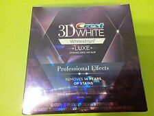 Crest 3D White Whitestrips Professional Effects 20 pouches/40 strips