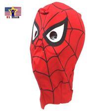 Spiderman Spider Hero Costume Latex Rubber Head Man Horror Scary Mask Halloween