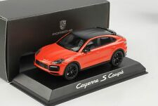 Porsche Cayenne S Coupe Lava orange Carbon Dach 2019 1:43 Norev WAP Dealer