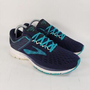 Brooks Womens Ravenna 9 Running Shoes Blue 1202691B452 Low Top Lace Up 10.5 B