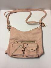 Dasein Soft Washed Vegan Leather Bag Top Belt Crossbody Bag Shoulder