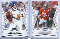 "(2) CARD LOT-EZEKIEL ELLIOTT & DAK PRESCOTT 2016 WHITE LEAF ""2"" CARD ROOKIE LOT!"