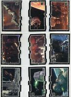 Star Wars 30th Anniversary Complete Triptych Chase Card Set [27]