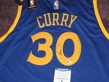 STEPH CURRY Signed GOLDEN STATE WARRIORS Adidas Swingman JERSEY w/ Beckett COA