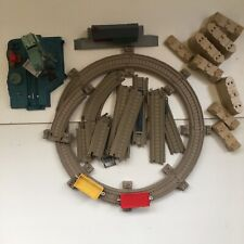 Thomas Tank Engine Hit Toys Track Bundle With Cranky Station And Trucks