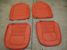 1967 Corvette Red Vinyl Seat Covers, New