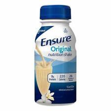 Ensure 58297 Original Nutrition Shake Vanilla 8oz Bottles JAN 2021 QTY 24