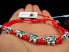 WHOLESALE LOT-120 Adjustable Bracelet Good Luck Lucky Protection Elephant Bead A
