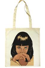Mia Wallace Tote Shopper Bag  #Pulp Fiction