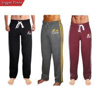 X-2 Mens Active Fleece Joggers Sweatpants Gym Tracksuit Running Athletic Pants