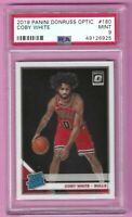 2019-20 Panini Donruss Optic Coby White Rated Rookie Card #180 PSA 9 Mint