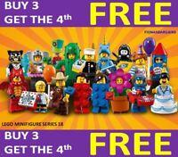 - SEALED ENVELOPE LEGO 71021 MINIFIGURES SERIE 18 FESTA PARTY RETIRED 2018