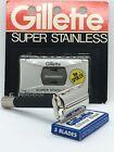 "Vintage Gillette Razor - Black Handle Super Speed (R2), w/ ""The Spoiler"" Blades"