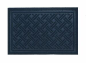 """Rubber Backed Engraved Entrance Doormat for Indoor/Outdoor Clean Decor 30""""x 18"""""""