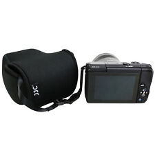 JJC Ultra Light Camera Pouch Case Bag for Canon M M2 M3 M10+18-55mm 15-45mm Lens