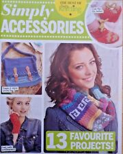 New listingSimply Accessories 13 pattern knitting leaflet. Cowls, hat, scarf, beanie, bag.
