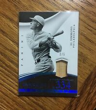2015 Panini Immaculate Al Simmons #20 Accolades Game Bat 3/5 SP